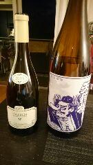 白ワインと天狗桜