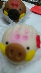 いのしし和菓子