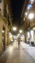 サンセバスチャン街並み夜