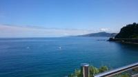 サンセバスチャン青空と海