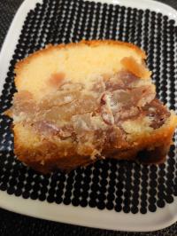 栗たっぷりパウンドケーキ