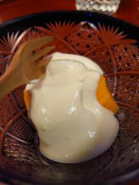 柿豆腐クリーム