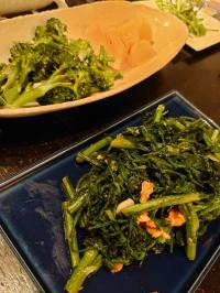春菊と温野菜