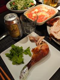 チキンディナー食卓